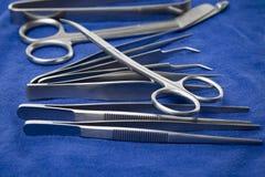 外科器械细节  库存图片