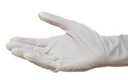 外科手套的现有量 库存图片
