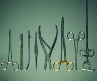 外科的设备 库存图片