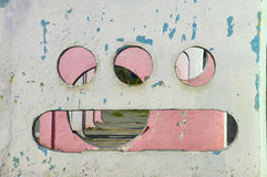 外籍人微笑 免版税图库摄影