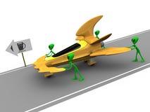 外籍人气体需要 免版税库存图片