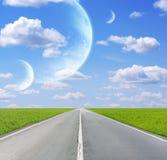 外籍行星天空 库存图片
