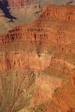 从外缘足迹的峡谷视图 免版税库存照片