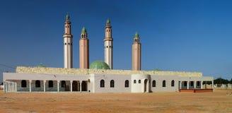 外视图Touba清真寺,塞内加尔 库存照片