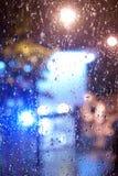 外部下雨的s 免版税库存照片