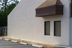 外部大厦墙壁空白 免版税图库摄影