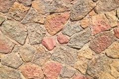 外部大厦的难看的东西石砖墙样式 免版税库存图片