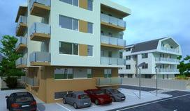 外部大厦,设计翻译,建筑学 库存图片