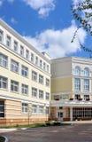 外部学校 免版税库存照片