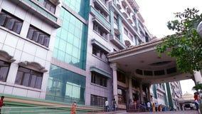 外部射击-政府综合医院在金奈,印度, 影视素材