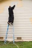 外部建筑壁画 免版税库存图片