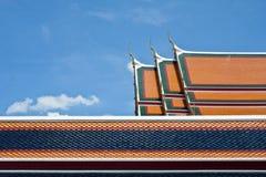 外部最旧的一pho寺庙wat 库存图片