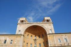 外部梵蒂冈 库存图片