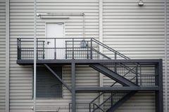 外部楼梯 库存图片