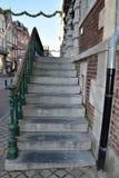 外部楼梯 免版税库存照片