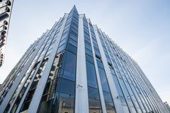 外部的办公室,现代建筑 免版税库存照片