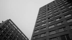 外部的摩天大楼 免版税库存照片