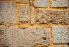 外部石墙背景 库存照片
