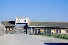 外部罗本岛监狱 库存图片