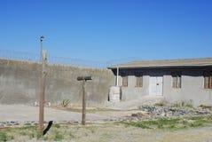 外部罗本岛监狱 免版税库存照片