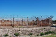 外部罗本岛监狱 图库摄影