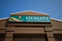 外部质量的旅馆和的随员 免版税库存图片