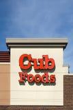 外部Cub的食物 免版税库存照片