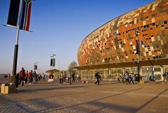 外部fnb通用体育场视图 库存图片