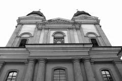 外面变貌教会 免版税图库摄影