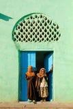 外面埃塞俄比亚女孩harar清真寺穆斯林 库存图片