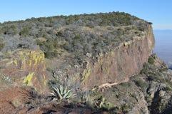 外面山圈足迹在大弯曲国家公园 库存图片