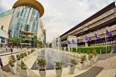 外面泰国模范 库存照片