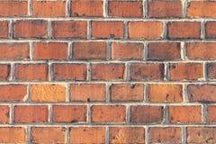 外面砖墙 库存图片