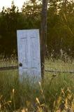 外面门 库存照片