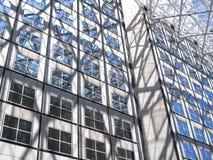 外面buidling的现代办公室 免版税图库摄影
