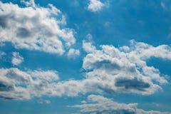 多云和明亮 免版税库存图片