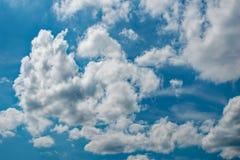 多云和明亮 库存照片