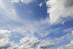 多云天空。 库存照片