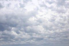 多云天空在荷兰 免版税库存图片