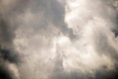 多云天空夏天 免版税图库摄影