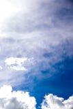 多云天空夏天 库存图片