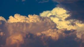 多云天空摘要 免版税库存图片