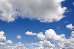 多云天空 免版税库存照片