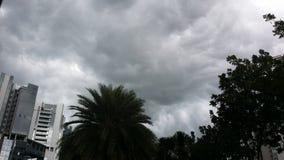 多云天空 库存照片