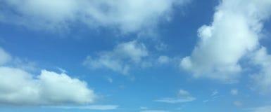 多云天空 库存图片