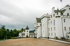 多云布莱尔城堡 图库摄影