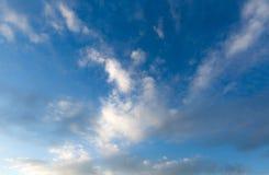 多云的背景 免版税图库摄影