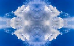 多云背景。 图库摄影