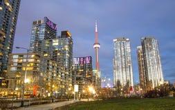 多伦多全景,加拿大 免版税库存照片