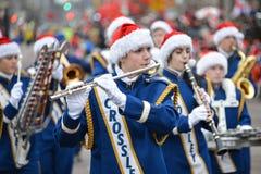 2013年多伦多圣诞老人游行 库存图片
